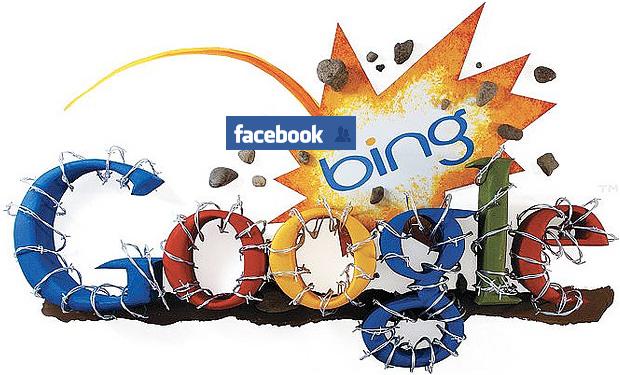 Bataille Bing contre Google