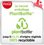 coca cola plantbottle